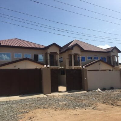 3 Bedroom semi Detached House in Accra Ghana